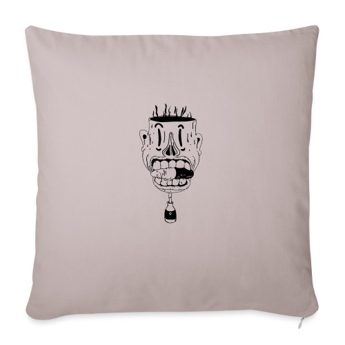 don't take another pill - Sofa pillow with filling 45cm x 45cm