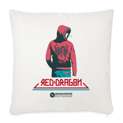 Red Dragon - Sofa pillow with filling 45cm x 45cm