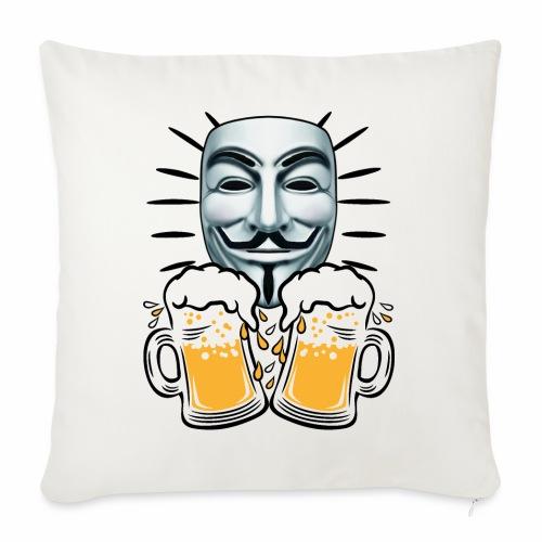 07 Zwei Mass Bier Anonymous - Sofakissen mit Füllung 44 x 44 cm