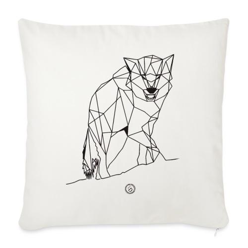 FENRIS - Geometrisk lineart - Sofapude med fyld 44 x 44 cm
