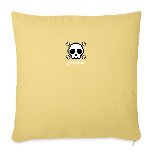 Scripted. Skull - Sofa pillow with filling 45cm x 45cm