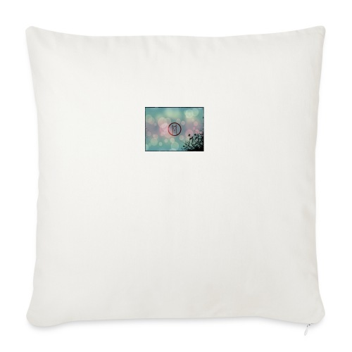 Llama in a circle - Sofa pillow with filling 45cm x 45cm