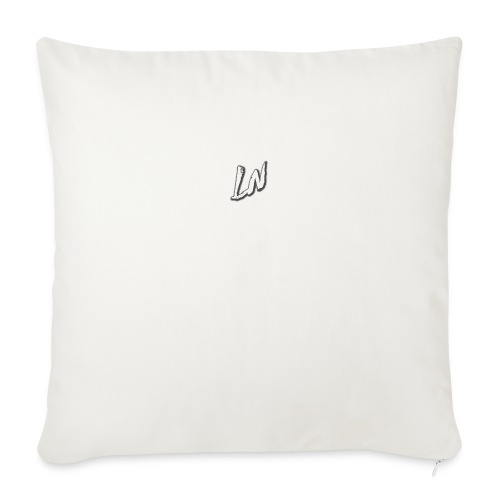 Linda Newby Logo - Sofa pillow with filling 45cm x 45cm