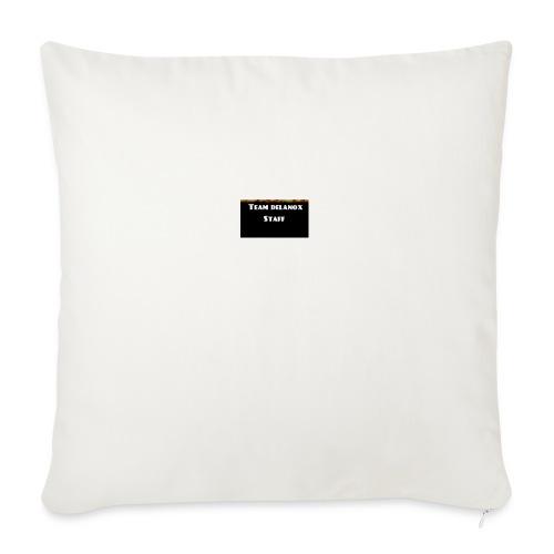 T-shirt staff Delanox - Coussin et housse de 45 x 45 cm