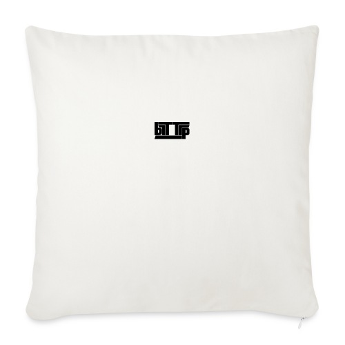 brttrpsmallblack - Sofa pillow with filling 45cm x 45cm