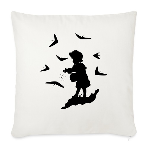 HG FEEDING WINGS - Sofa pillow with filling 45cm x 45cm