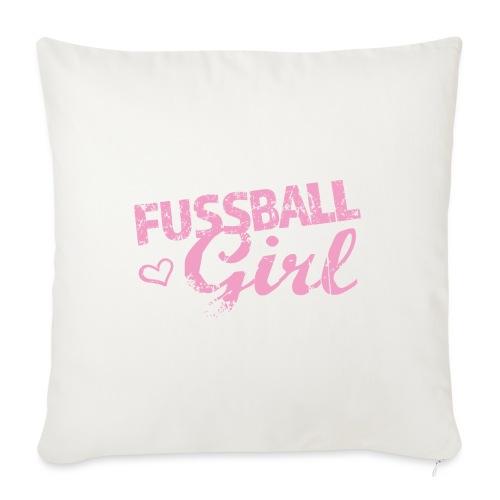 Fußball Girl - Sofakissen mit Füllung 44 x 44 cm