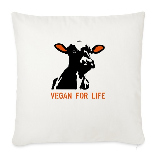 colorida vegan for life - Sofakissen mit Füllung 44 x 44 cm