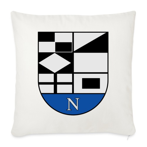 1200px Coat of arms of Neringa Lithuania svg - Sofakissen mit Füllung 44 x 44 cm