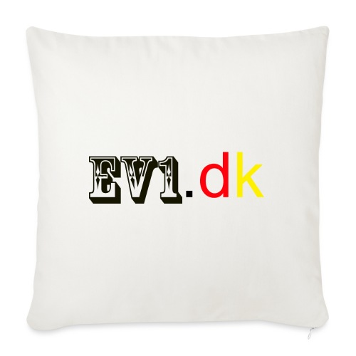 ev1 design - Sofapude med fyld 44 x 44 cm