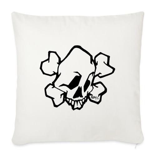 Graffiti Skull - Sofapude med fyld 44 x 44 cm