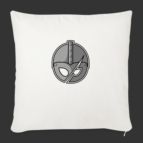 Slashed Helmet - Sofa pillow with filling 45cm x 45cm