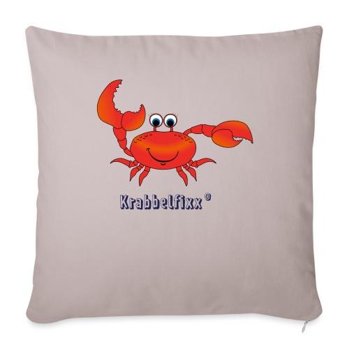 Krabbe Krabbelfixx - Sofakissen mit Füllung 44 x 44 cm