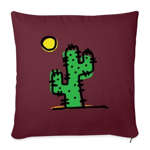 Cactus single - Cuscino da divano 44 x 44 cm con riempimento