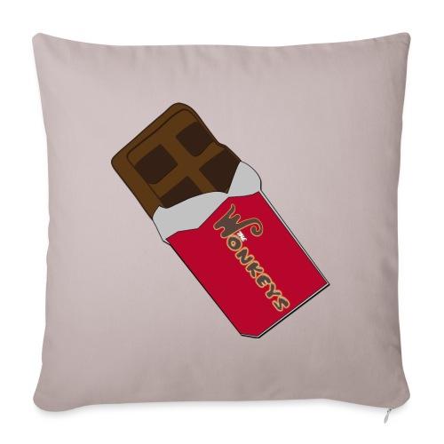 The Wonkeys Chocolate Edition - Cuscino da divano 44 x 44 cm con riempimento