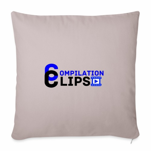 Official CompilationClips - Sofa pillow with filling 45cm x 45cm