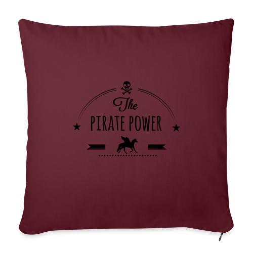 Pirate Power - Coussin et housse de 45 x 45 cm