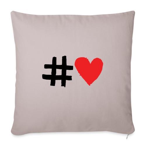 #Love - Sofapude med fyld 44 x 44 cm