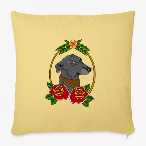 Blue Greyhound - Sofa pillow with filling 45cm x 45cm