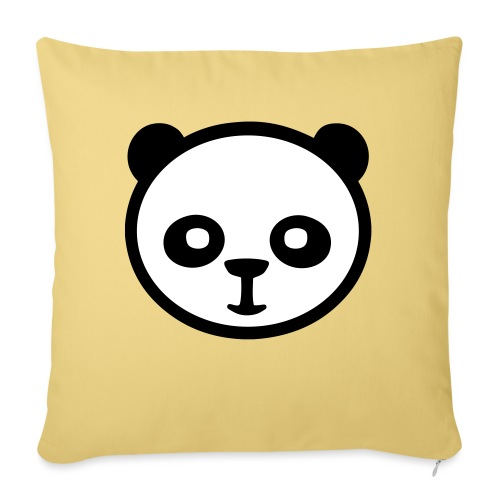 Panda, Panda gigante, Panda gigante, Orso di bambù - Cuscino da divano 44 x 44 cm con riempimento
