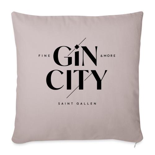 Gin City 2 - Sofakissen mit Füllung 44 x 44 cm
