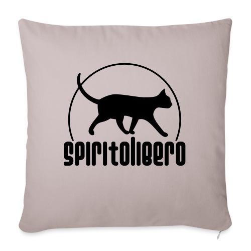 spiritolibero - Cuscino da divano 44 x 44 cm con riempimento