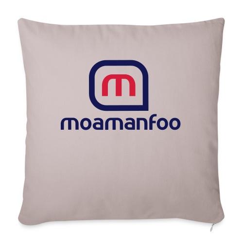 Moamanfoo - Coussin et housse de 45 x 45 cm