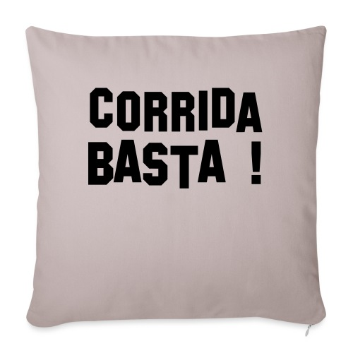 Anti-Corrida - Coussin et housse de 45 x 45 cm