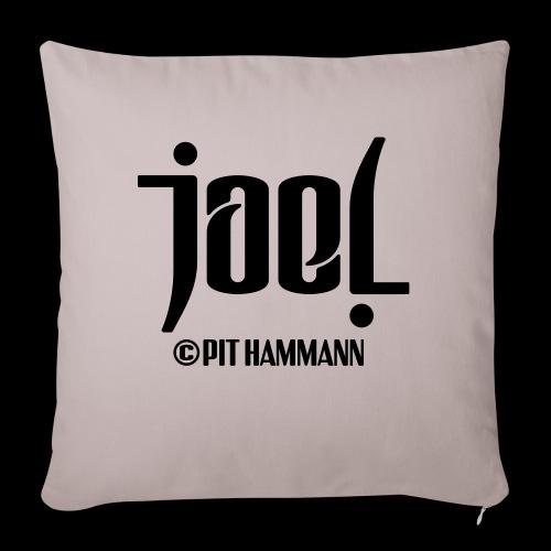 Ambigramm Joel 01 Pit Hammann - Sofakissen mit Füllung 44 x 44 cm