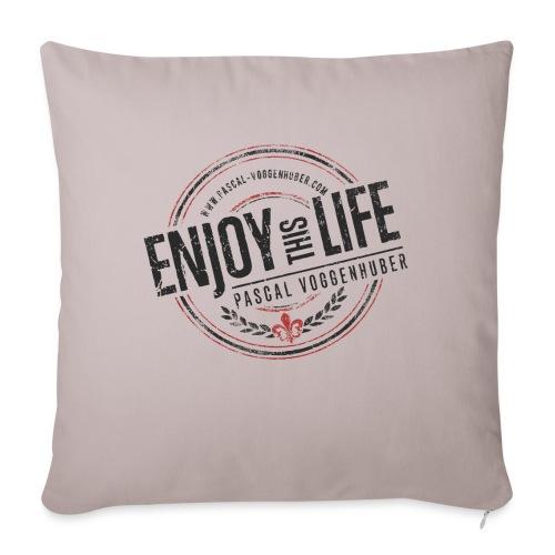 Enjoy this Life® & Fleur de Lys Pascal Voggenhuber - Sofakissen mit Füllung 44 x 44 cm