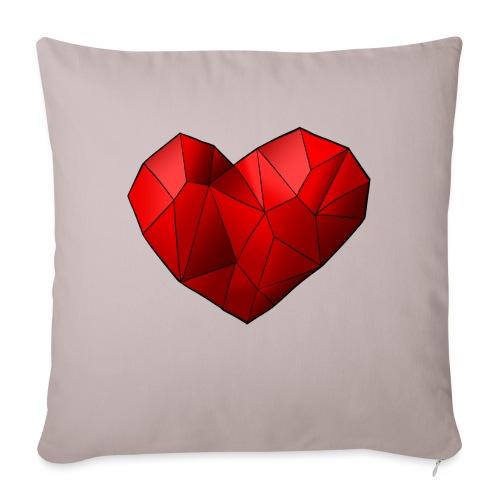 Heartart - Sofa pillow with filling 45cm x 45cm