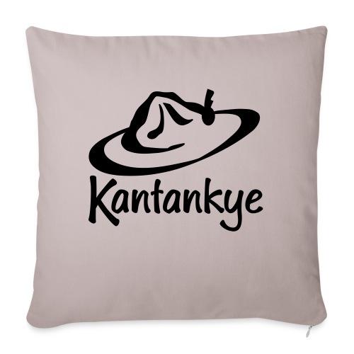 logo hoed naam - Bankkussen met vulling 44 x 44 cm