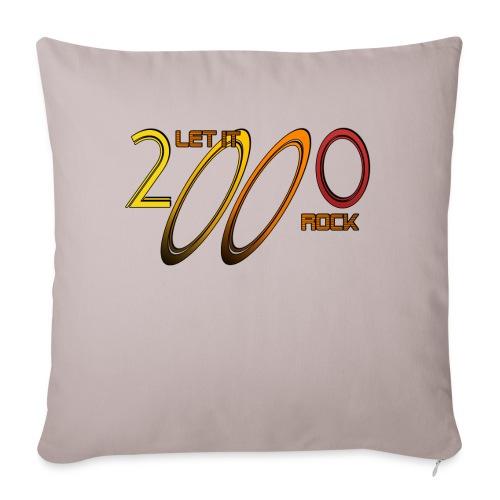 Let it Rock 2000 - Sofakissen mit Füllung 44 x 44 cm