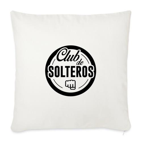 Club de Solteros (logo negro) - Cojín de sofá con relleno 44 x 44 cm
