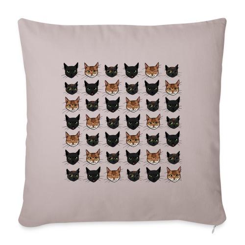 Chats - Coussin et housse de 45 x 45 cm