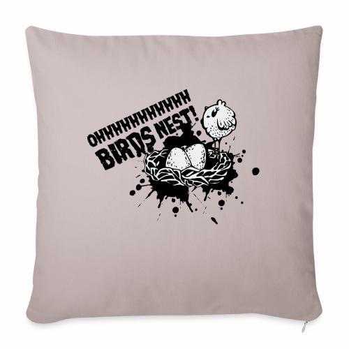 Birds Nest With Bird - Sofa pillow with filling 45cm x 45cm