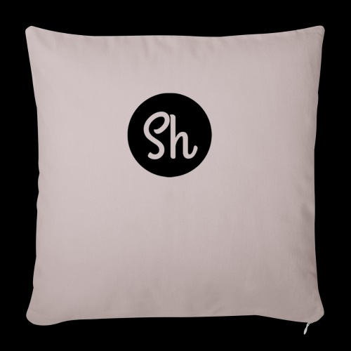 LOGO 2 - Sofa pillow with filling 45cm x 45cm