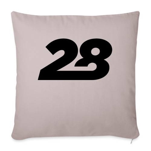 28 - Sofa pillow with filling 45cm x 45cm
