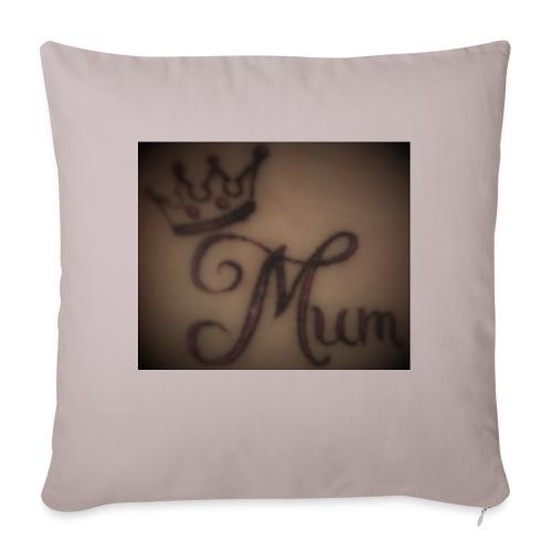 Quen Mum - Sofa pillow with filling 45cm x 45cm