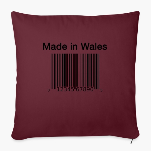 Made in Wales - Sofa pillow with filling 45cm x 45cm