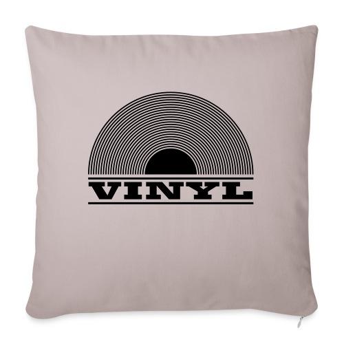 VINYL - Soffkudde med stoppning 44 x 44 cm