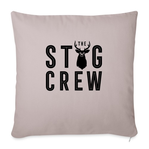 THE STAG CREW - Sofa pillow with filling 45cm x 45cm