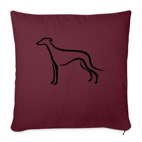 Greyhound - Sofakissen mit Füllung 44 x 44 cm
