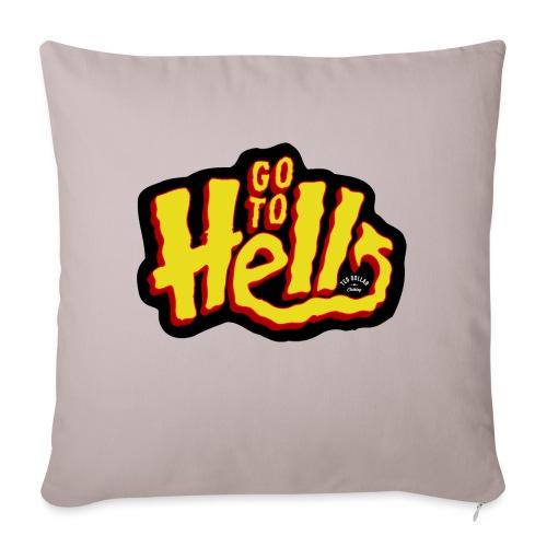 Go to Hell - Coussin et housse de 45 x 45 cm