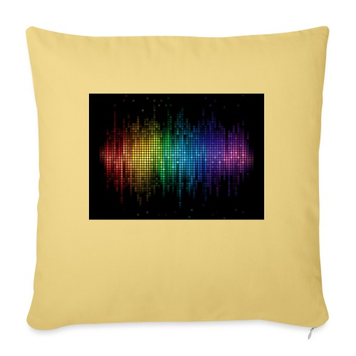 THE DJ - Sofa pillow with filling 45cm x 45cm
