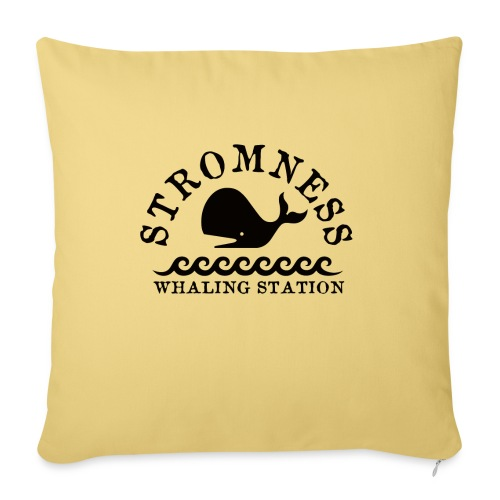 Sromness Whaling Station - Sofa pillow with filling 45cm x 45cm