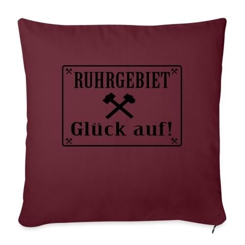 Glück auf! Ruhrgebiet - Sofakissen mit Füllung 44 x 44 cm