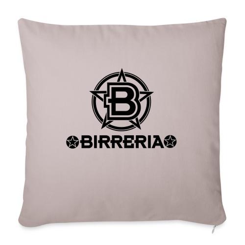 Logo Birreria 2021 Black - Sofakissen mit Füllung 44 x 44 cm