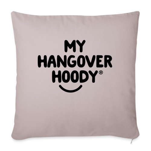 The Original My Hangover Hoody® - Sofa pillow with filling 45cm x 45cm