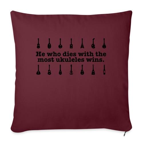 ukulele_wins - Sofa pillow with filling 45cm x 45cm
